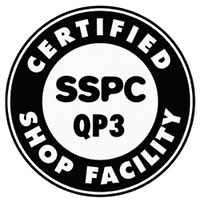 Certified SSPC QP3 Shop Facility
